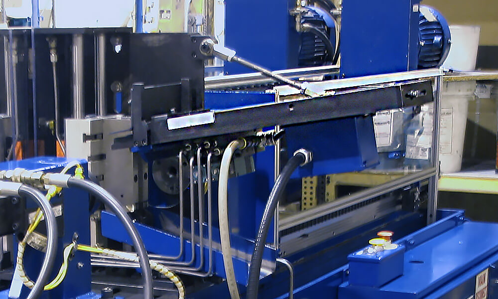 magazine loader for drilling machine