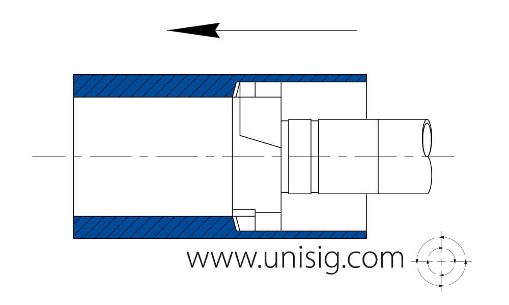 large diameter deep hole drilling diagram